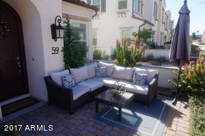 Courtyard adds space for entertaining or family gatherings.