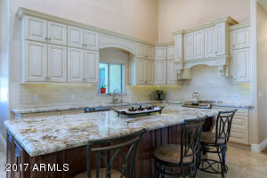 Stainless Steel appliances, granite counter tops, custom cabinets, light fixtures, and new floors!