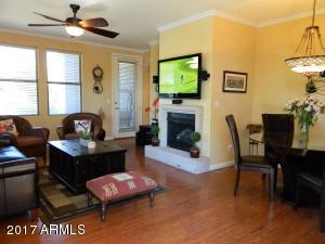 Ground level condo with exit from family area overlooks well manicured grounds