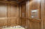 Paneled Elevator to all Levels