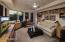 Her Office/4th Bedroom with en-suite bath & walk-in closet