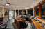 His Office/5th Bedroom with en-suite bath & walk-in closet with views to the Golf Course