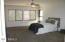 Master Bedroom / Ceiling Fan / Honeycomb Blinds