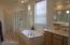 Master Sep Tub & Shower / Dual Sinks