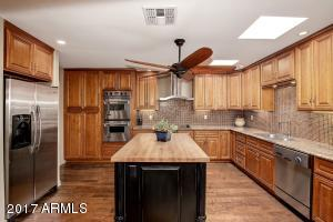 This Spacious Kitchen has so much natural light with 2 Skylights.