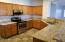 Expansive counter tops, spread out cook up a storm and entertain!