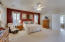 Ceiling fans and Gorgeous Plantation shutters throughout the home