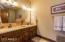 1 of 2 Full Bathrooms in Guest House
