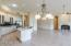 Oversized Great Room/Kitchen combo offers endless possibilities!