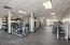 state of the art fitness equipment at sports club