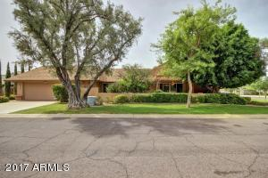 Located one block north of Camelback on private cul-de-sac