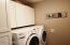 Built-in cabinetry. Washer/Dryer do not convey.