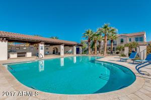 Heated resort style pool.