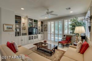 Custom Built-in Bookcase and Cabinetry with Entertainment Center, Lighting and Surround Sound