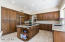 Incredible storage with roll out shelving & paneled appliances