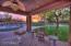 Outdoor poolside living room