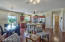 Not your average kitchen!! Cozy with space for dining, breakfast bar and just hanging out