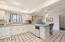 Spacious kitchen with casual dining space offers many opportunities when remodeling.