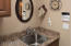 A sink too! with granite top!