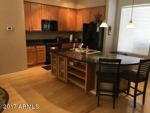 Kitchen with upgraded cabs and Granite counter tops