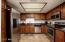 with stainless steel appliances