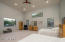 Enormous Master Suite with high ceilings