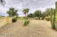 Large Yard w/space for sports court, putting green and playhouse