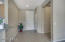 Room for your decorating touches, large coat closet