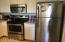 Stainless steel appliances and refrigerator are included!