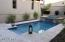 Pool with Spa Water Feature.
