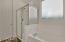 Soaking tub w/ separate shower
