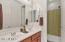 Guest Bathroom w/ dual sinks