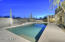 Breathtaking Desert Sunsets and Sunrises from this South Facing Fenced Resort Style low maintenance Pool Area