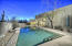 Lap Pool, Covered Misted Patio, Outdoor Shower, View Fencing overlooking the Natural Sonoran Desert