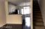 Kitchen & upstairs