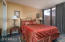 Direct access to front courtyard / private patio
