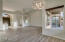 GRAND LIVING AREA WITH VAULTED CEILINGS - NEW LED LIGHTING.