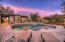 Sit back at dusk in your backyard and watch the sun set in the Arizona sky!