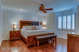 King Bed & 2 Side Tables w/ plenty of room!