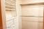 Drawers and customizable shelving