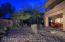 Night backyard