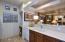 Kitchen with desk nook