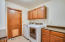 Laundry Room - Washer and Dryer stay