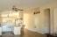 Vaulted ceilings, pot shelves