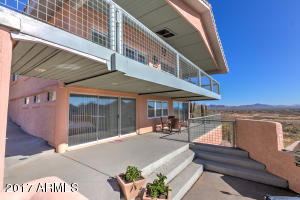 180-degree panoramic views with magnificent sunset views