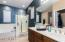 Generous Master Bathroom with Dual sinks