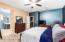 Split Spacious Master Bedroom