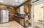 Stainless steel appliances & Granite counters