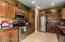 Spacious Kitchen with so much storage!! Roll out drawers in lower cabinets