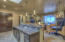 Kitchen Island open to Great room.